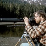 Filming bears on Admiralty Island, southeast Alaska